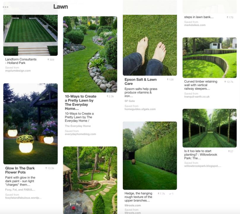 pinterest lawn